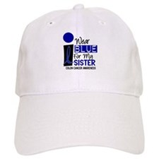 I Wear Blue For My Sister 9 CC Baseball Cap