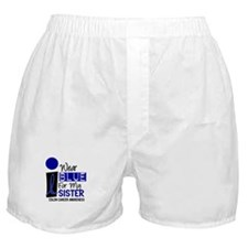 I Wear Blue For My Sister 9 CC Boxer Shorts
