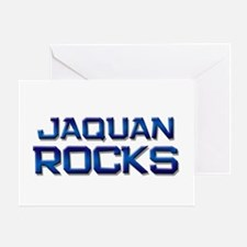 jaquan rocks Greeting Card