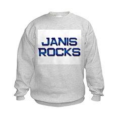 janis rocks Sweatshirt