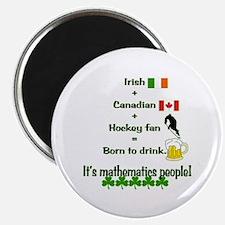 St. Patrick's Day Mathematics Magnet