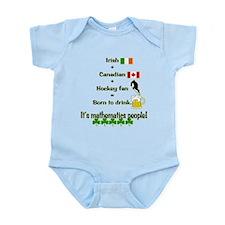 St. Patrick's Day Mathematics Infant Bodysuit