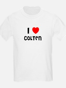 I LOVE COLTEN Kids T-Shirt