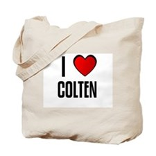 I LOVE COLTEN Tote Bag
