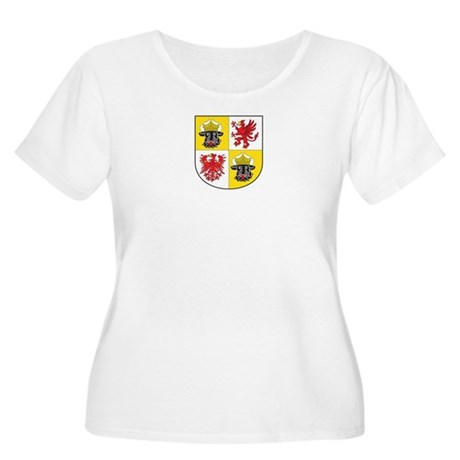 Mecklenburg-Vorpommern Women's Plus Size Scoop Nec