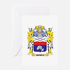 Morey Coat of Arms - Family Crest Greeting Cards