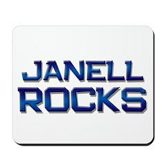 janell rocks Mousepad