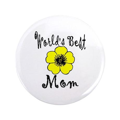 """World's Best Mom 3.5"""" Button"""