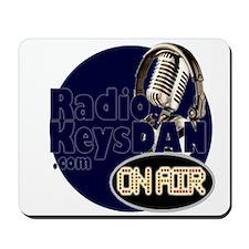 Radio KeysDAN Logo Mousepad