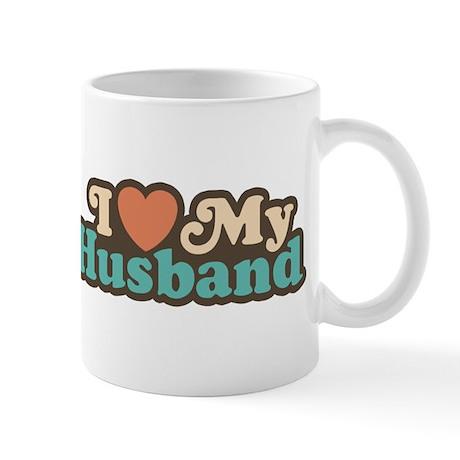 I Love My Husband Mug