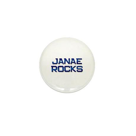 janae rocks Mini Button (10 pack)