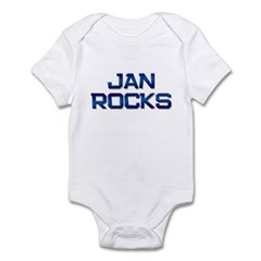 jan rocks Infant Bodysuit