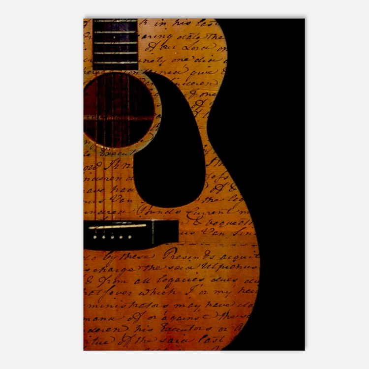 Guitar Notes Postcards (Package of 8)