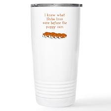 Shiba Puppy Cam Travel Mug