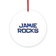 jamie rocks Ornament (Round)