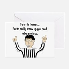 To Err is Human... Greeting Card