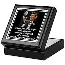"""Obama's Secret"" Keepsake Box"