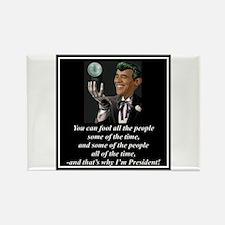 """""""Obama's Secret"""" Rectangle Magnet"""
