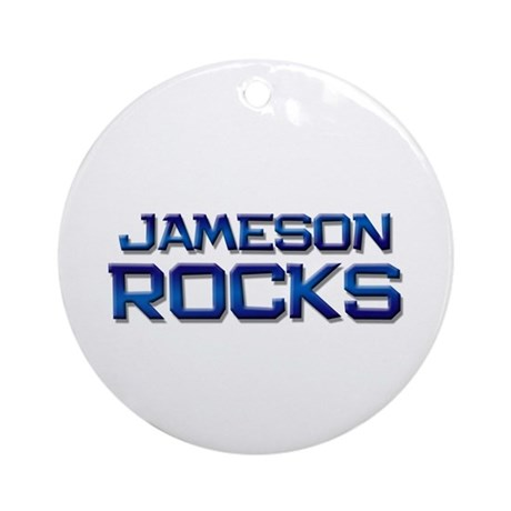 jameson rocks Ornament (Round)