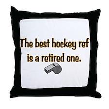 Retired Ref Throw Pillow