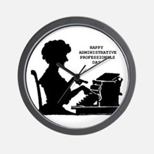 Cute Administrative assistant day Wall Clock