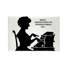Cute Administrative assistant day Rectangle Magnet (10 pack)