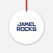 jamel rocks Ornament (Round)