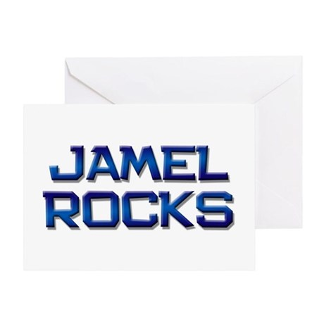 jamel rocks Greeting Card