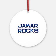 jamar rocks Ornament (Round)