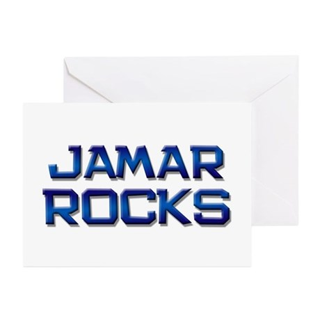 jamar rocks Greeting Cards (Pk of 10)