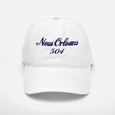 New Orleans 504 area code Baseball Baseball Cap
