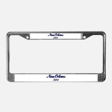 New Orleans 504 area code License Plate Frame