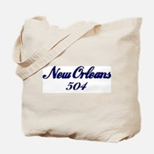 New Orleans 504 area code Tote Bag