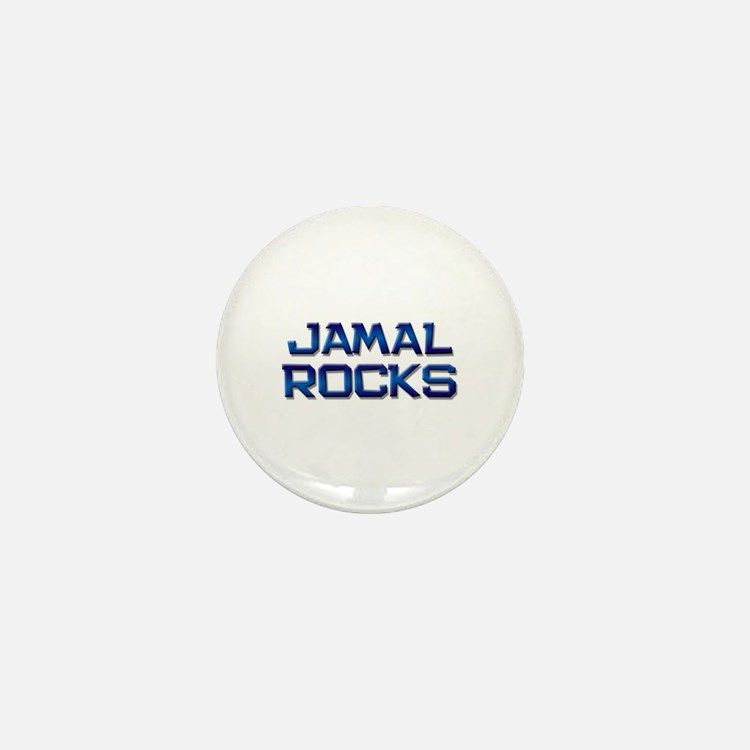 jamal rocks Mini Button