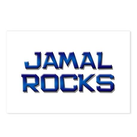 jamal rocks Postcards (Package of 8)