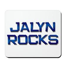 jalyn rocks Mousepad