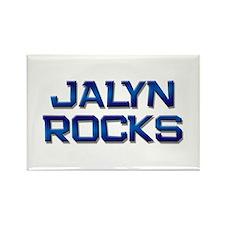jalyn rocks Rectangle Magnet