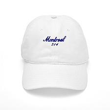 Montreal 514 Quebec Canada Baseball Cap