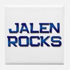 jalen rocks Tile Coaster