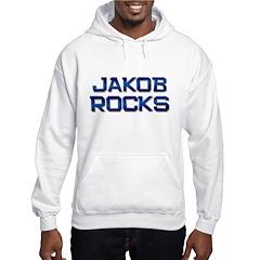 jakob rocks Hooded Sweatshirt