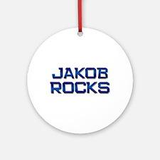 jakob rocks Ornament (Round)