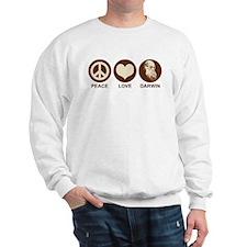 Peace Love Darwin Sweatshirt