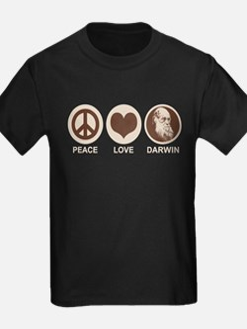 Peace Love Darwin T