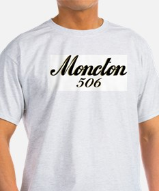 Moncton NB 506 area code Ash Grey T-Shirt