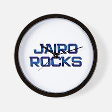 jairo rocks Wall Clock