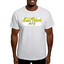 East York area code 416  Ash Grey T-Shirt