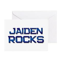 jaiden rocks Greeting Cards (Pk of 10)