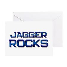 jagger rocks Greeting Card