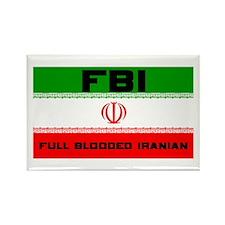 FBI Full Blooded Iranian Rectangle Magnet