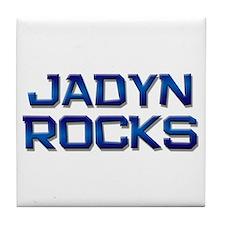 jadyn rocks Tile Coaster